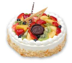 1/2 kg fresh fruit cake