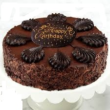 Card and 1/2 kg Dutch truffle cake