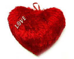 heart cushion Only for major cities in India